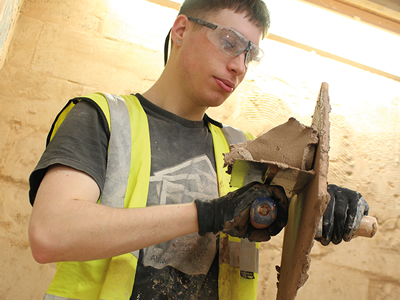 Discover a career within a growing industry with our wide range of Construction courses.