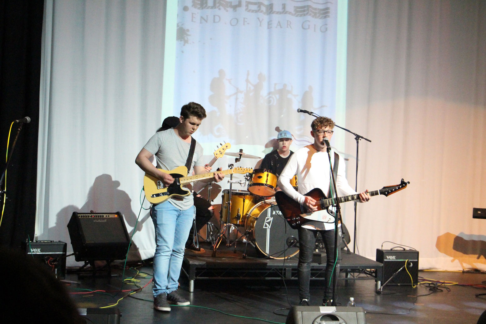 Bury College Music Students