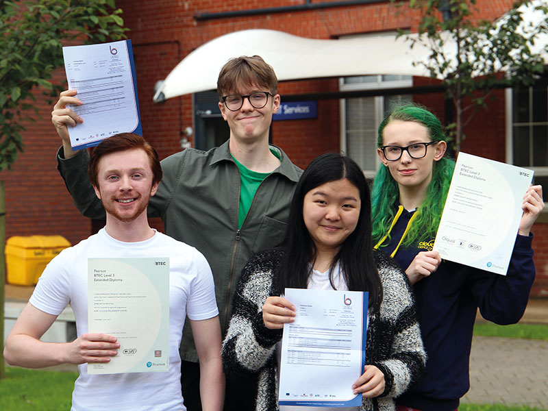 Results at Bury College