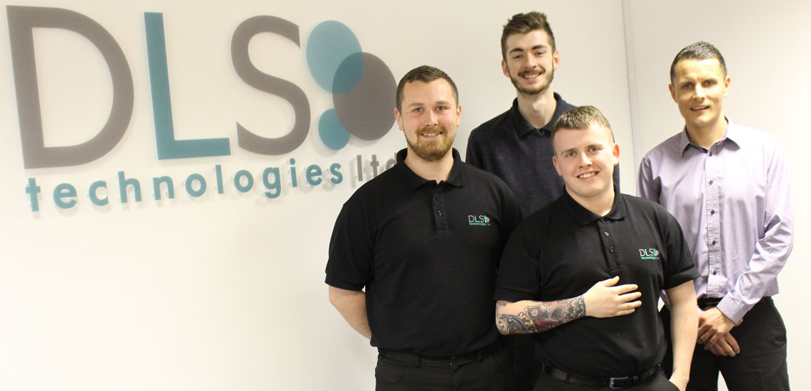 Bury College Apprentices at DLC Technologies