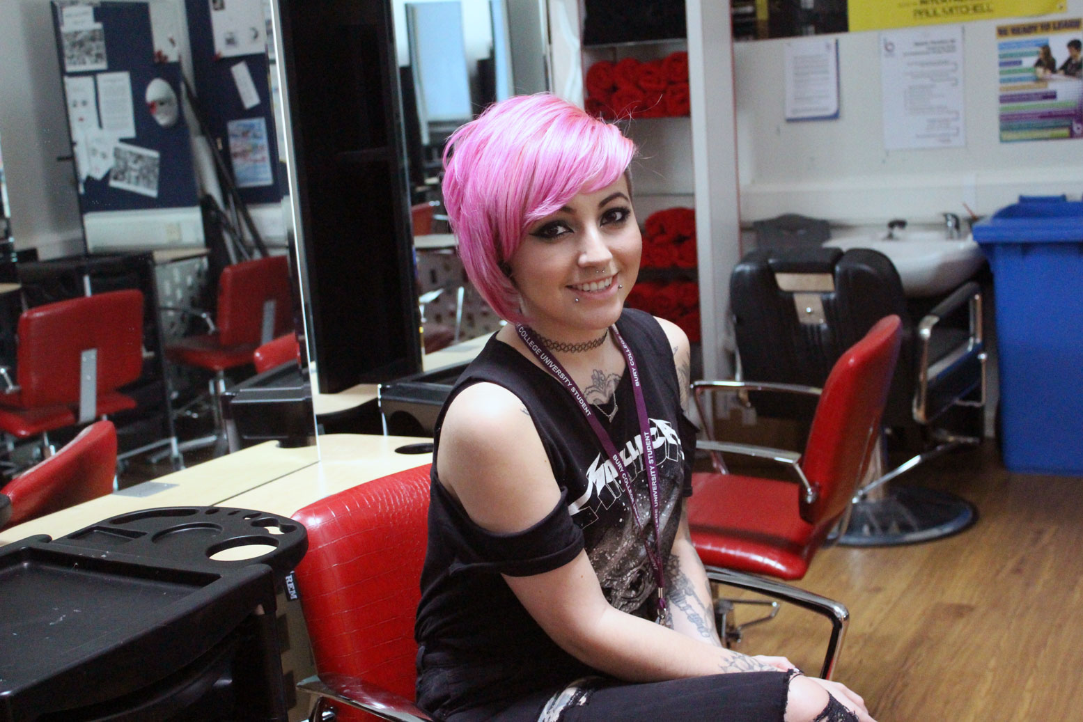 Hairdressing Student Shortlisted for Coveted Award