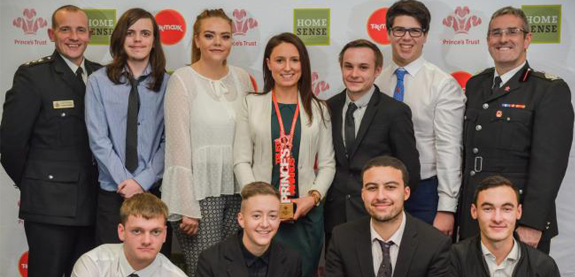 Bury Youngsters Win Big at The Prince's Trust Awards