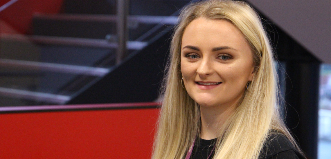 University Student Sets Sights on High Flying Career