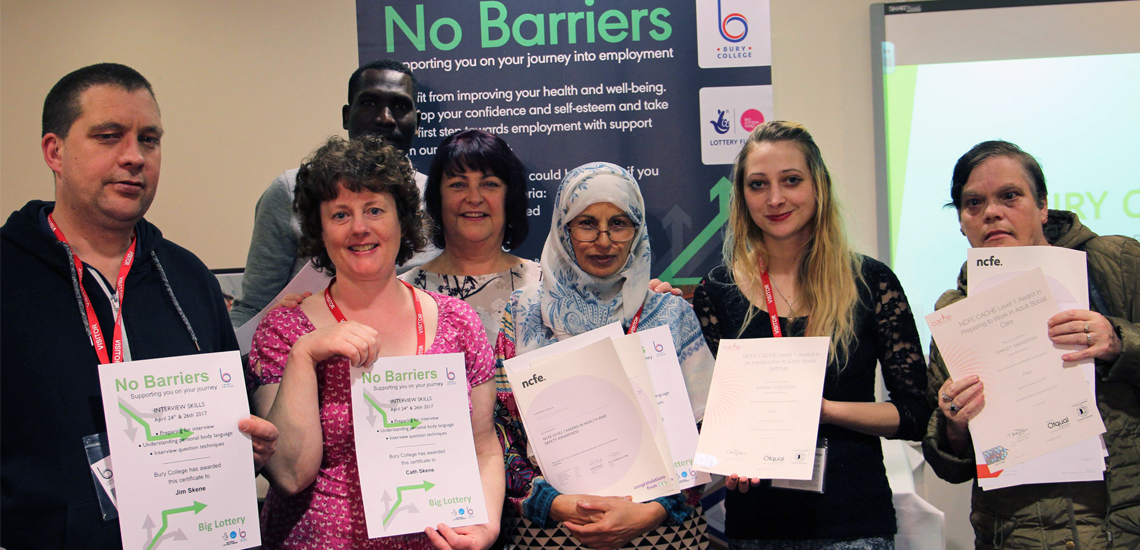 Adult No Barriers Project Boosts Bury Well-Being