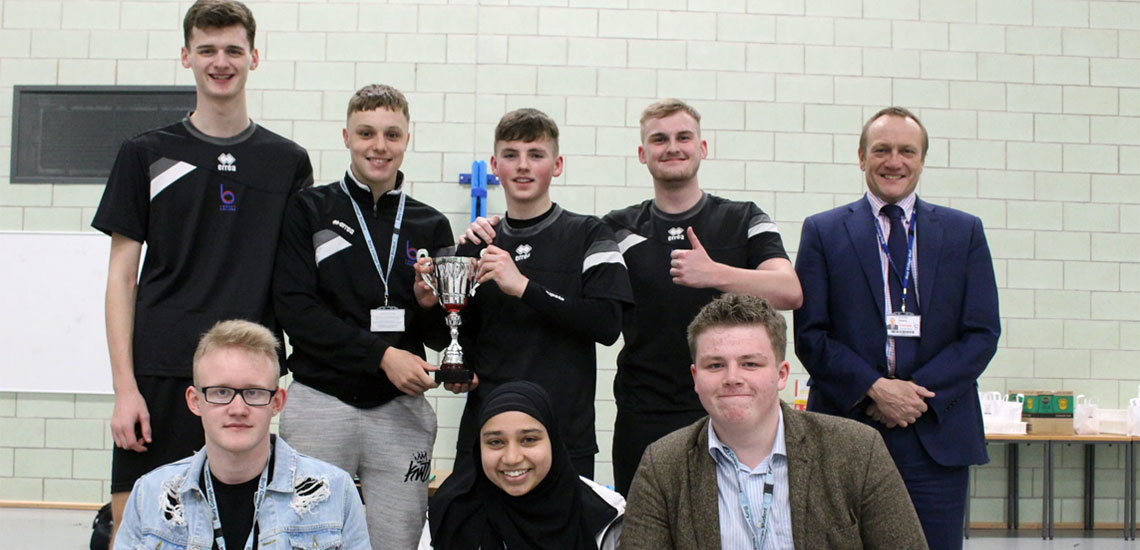 Greater Manchester Competition Triumph for Bury College Students