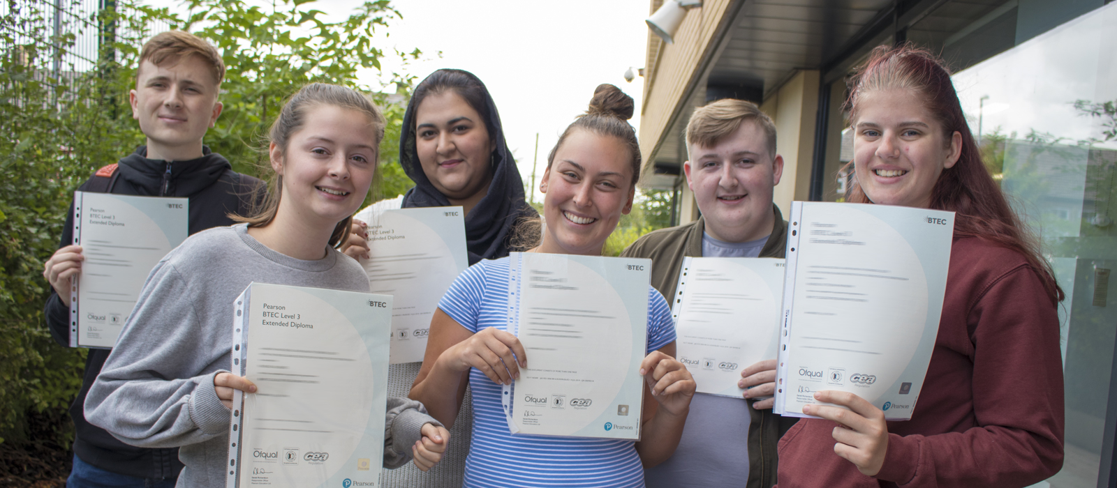 Bury College Results Day