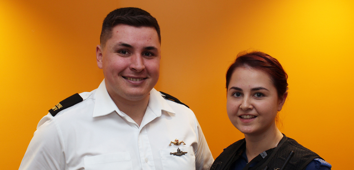 321cc399796 PUBLIC SERVICES COUPLE ACHIEVE CAREER DREAMS. Two former Bury College ...